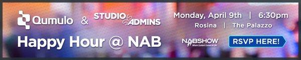 StudioSysAdmins Happy Hour at NAB